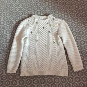 Crew cuts sweater
